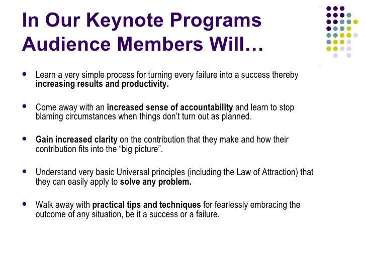 Corporate Keynotes Slide 2