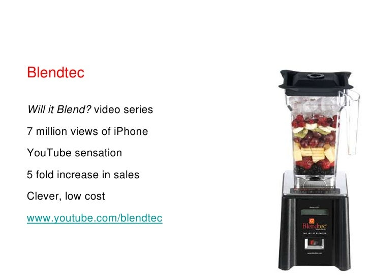 Blendtecbr Will It Blend Video