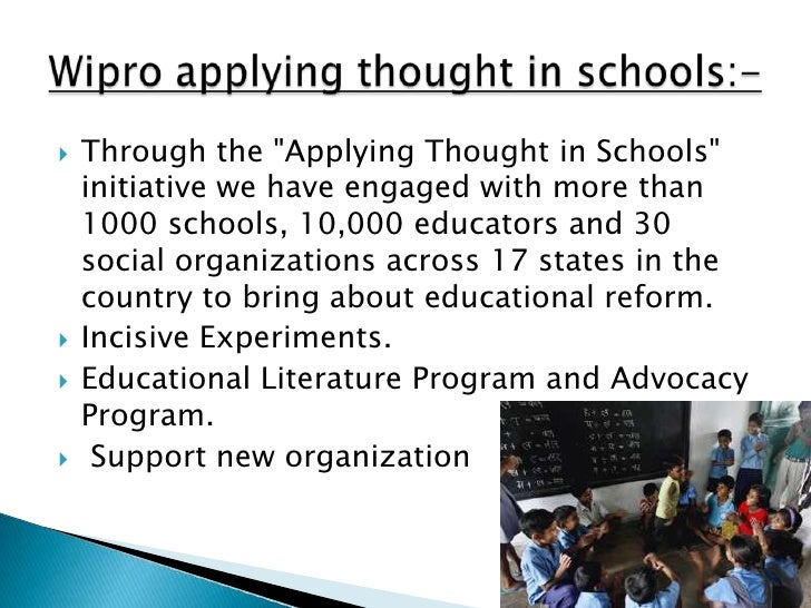 """   Through the """"Applying Thought in Schools""""    initiative we have engaged with more than    1000 schools, 10,000 educato..."""