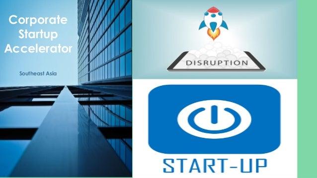 Corporate Startup Accelerator Southeast Asia