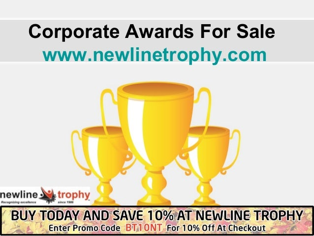 Corporate Awards For Sale  www.newlinetrophy.com