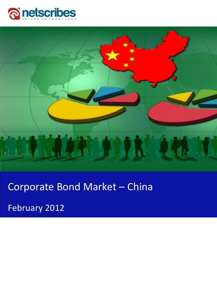 Corporate Bond Market – ChinaFebruary 2012