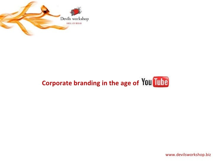 Corporate branding in the age of