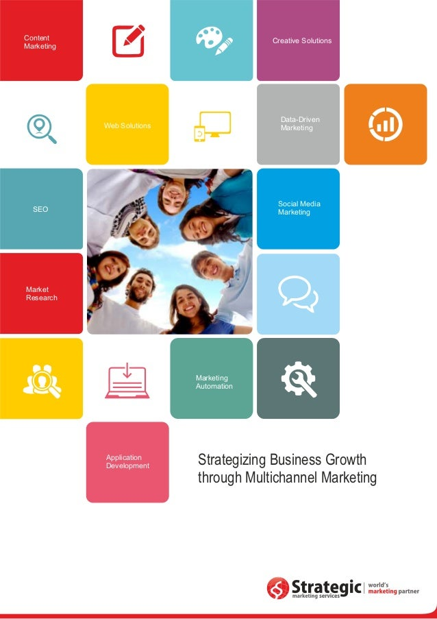 Strategic Marketing Services Corporate brochure – Marketing Brochure