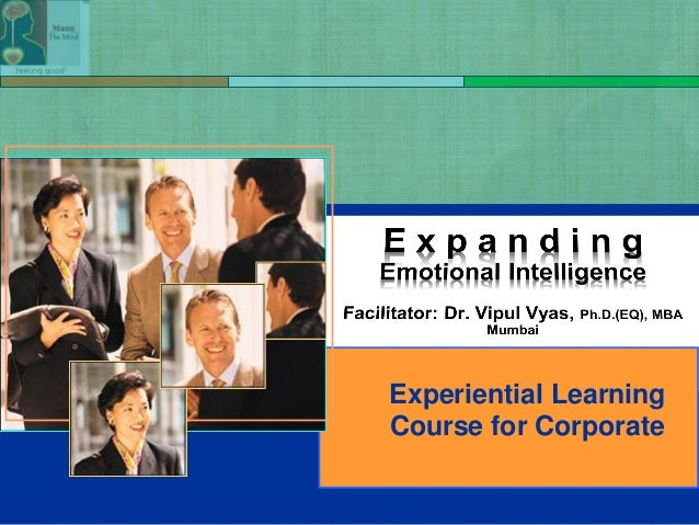 Experiential Learning Course for Corporate