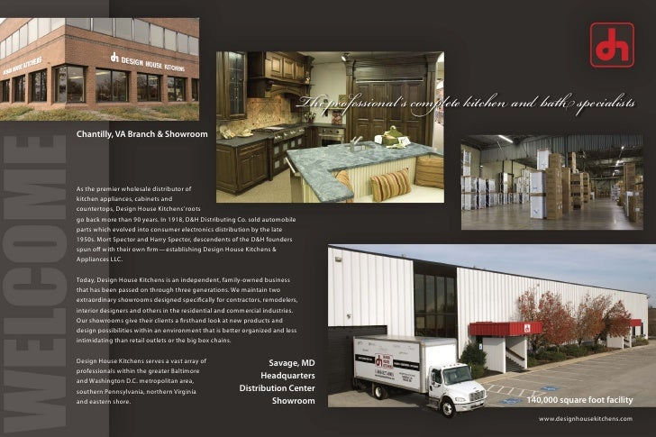 design house kitchens. Since 1918  2 The Professional S Complete Kitchen Design House Corporate Brochure