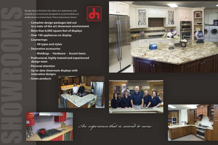 design house kitchens. Design House Kitchens  Corporate Brochure