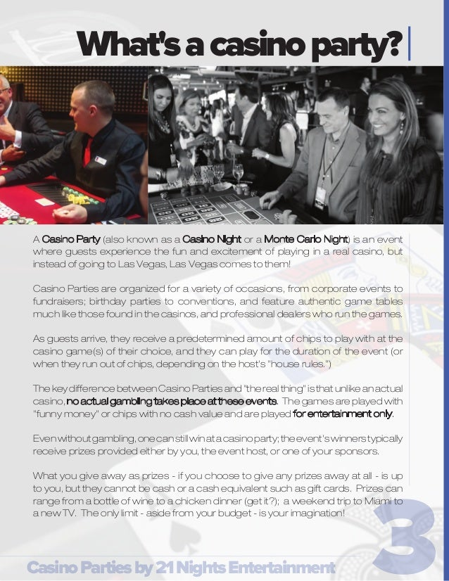 Guide to Corporate Casino Parties - Casino Parties by 21 Nights Enter…