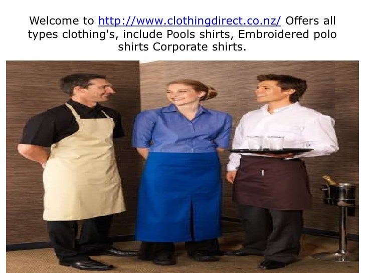 Welcome to http://www.clothingdirect.co.nz/ Offers all types clothing's, include Pools shirts, Embroidered polo shirts Cor...