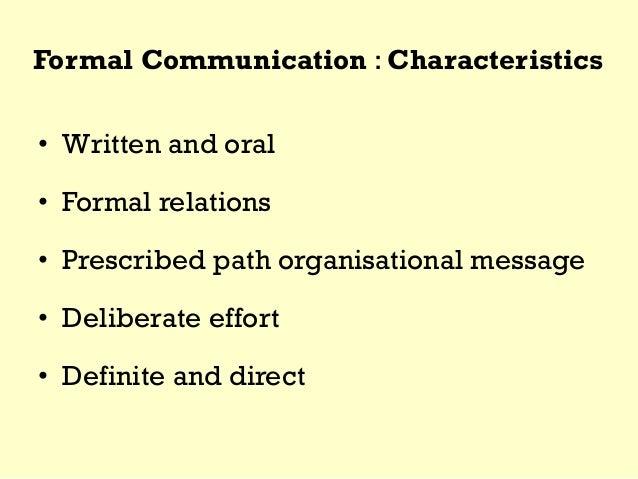 characteristics of corporate communication