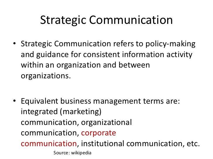 communication within organisation
