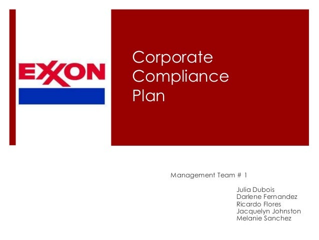 sample corporate compliance plan A sample code of conduct  national center for preventive law assembled a compliance principles  including corporate managers, compliance program.