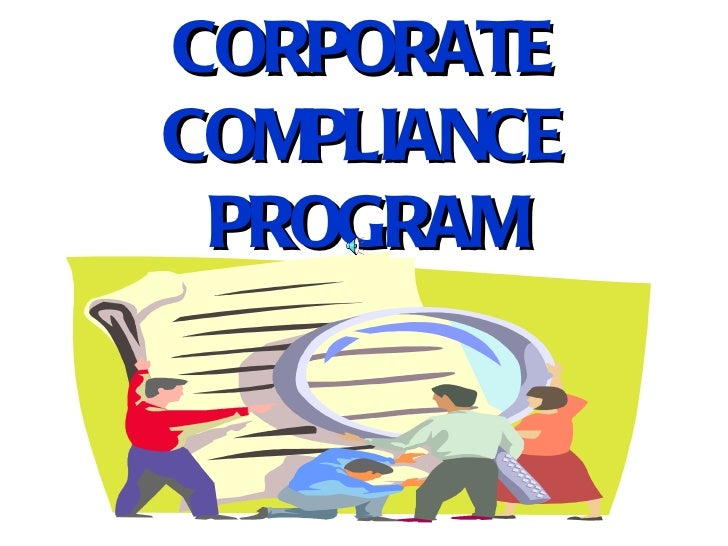 CORPORATE COMPLIANCE PROGRAM