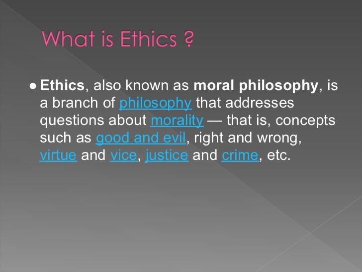 Corporate ethics Slide 2