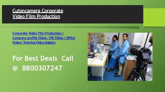 Cutsncamera Corporate Video Film Production Corporate Video Film Production / Company profile Video / HR Video / Office Vi...