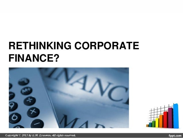 solutions to lectures on corporate finance He is co-author of corporate finance and  , peter m demarzo  students will engage in the development of corporate financial modeling cases and solutions.