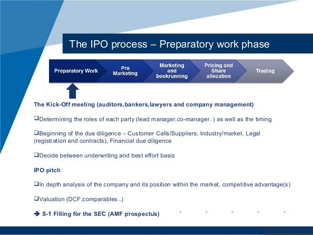 Legal and economic aspects of initial public offering ipo