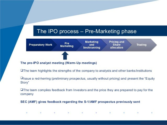 Working for a company pre ipo