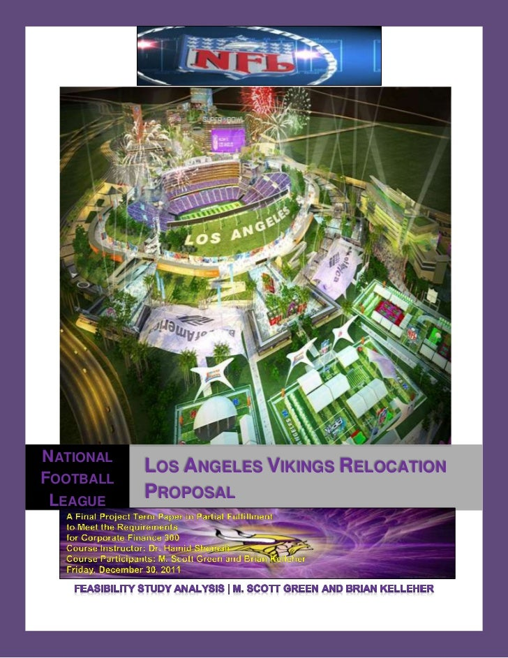 NATIONAL           LOS ANGELES VIKINGS RELOCATIONFOOTBALL LEAGUE    PROPOSAL