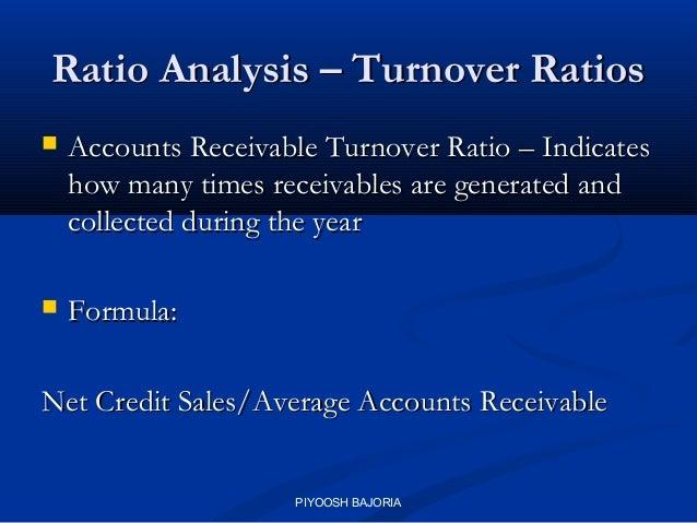 Receivables Turnover Ratio Definition