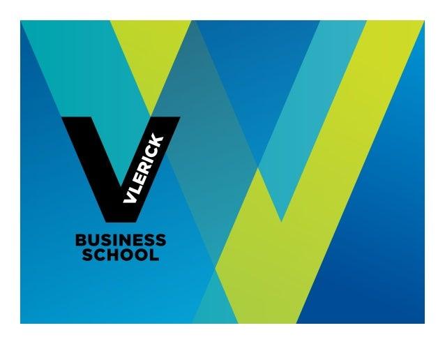 © Vlerick Business School