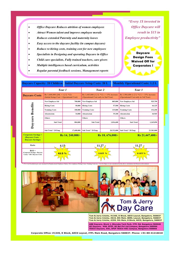Office Daycare Flyer