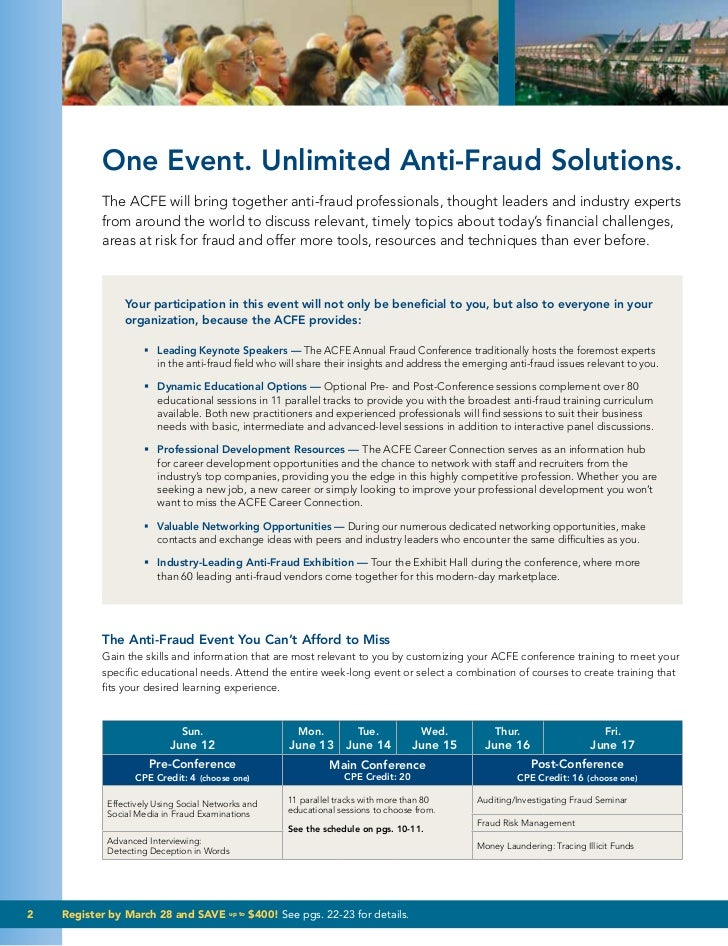 Corporate Fraud Knowledge 22nd Acfe Fraud Conference 2011