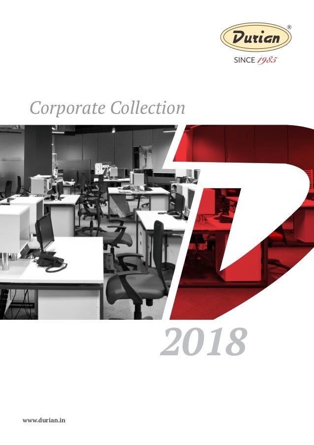 Corporate Collection 2018 Www.durian.in ...