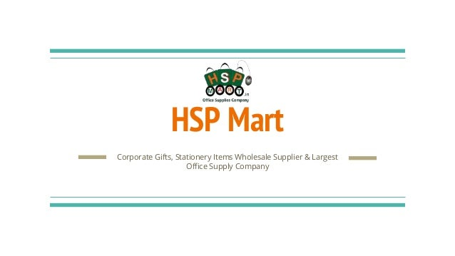 Corporate gifts & housekeeping material suppliers