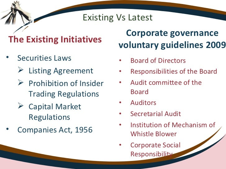 corporate governace role of borad of Good corporate governance is meant to be a starting point for  program and the  value of periodically rotating board leadership roles boards.