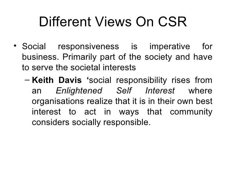 keith davis social responsibility Keith davis  log in sign up  renaissance towers condominium association, inc, plaintiff-appellant, v  responsibility to correct the error.