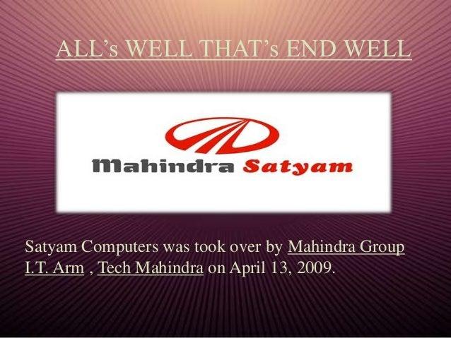 Corporate governance satyam case