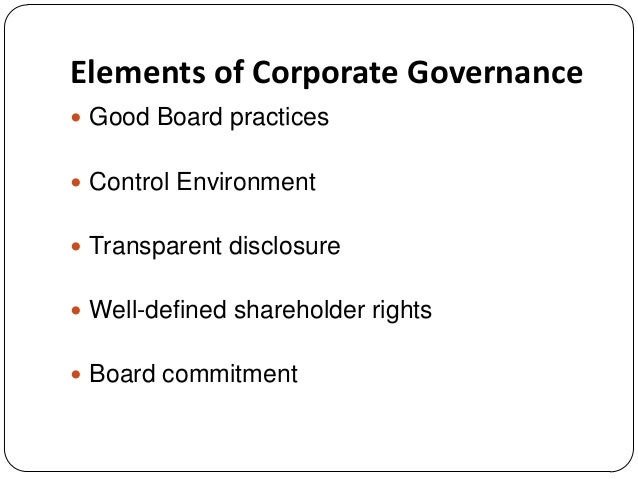 """good corporate governance The financial times writes, """"good corporate governance is a competitive advantage"""" without it, a company cannot reach its potential, and that makes corporate governance indispensable without it, a company cannot reach its potential, and that makes corporate governance indispensable."""