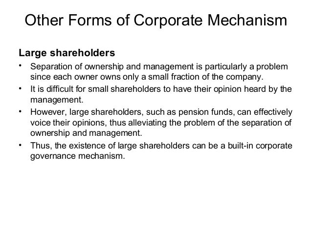 Monetary incentive to managers • •  One way to align the interest of management and of shareholders is to tie managerial c...
