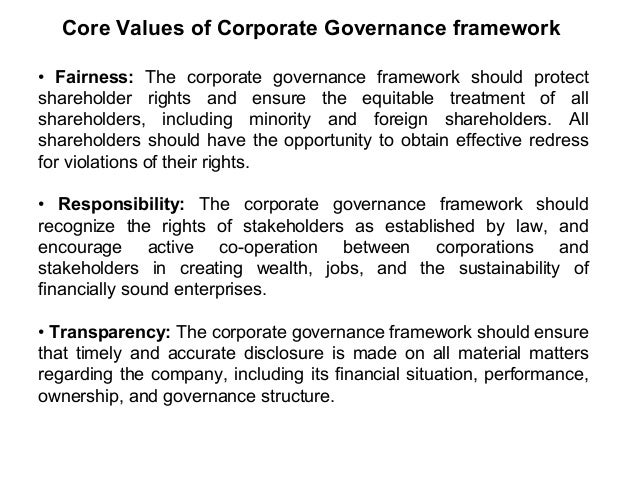 Accountability: The corporate governance framework should ensure the strategic guidance of the company, the effective moni...
