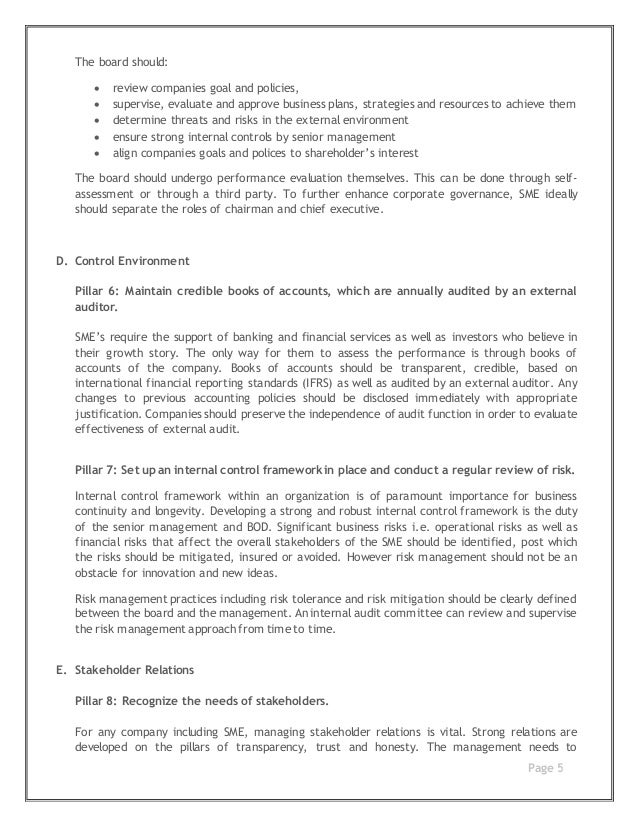 analysis of corporate governance The paper concludes by surveying briefly recent developments and by maintaining that analysis of the inter-relationship between directors, executives and shareholders of publicly traded companies is likely to be conducted through the conceptual prism of corporate governance for the foreseeable future.