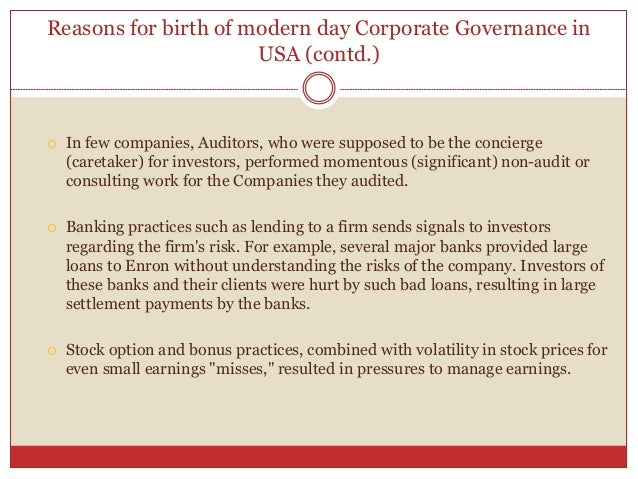 understanding a corporate governance Understanding of governance is the management  the good governance principles is that the societies involved in this process need to cope not just with.