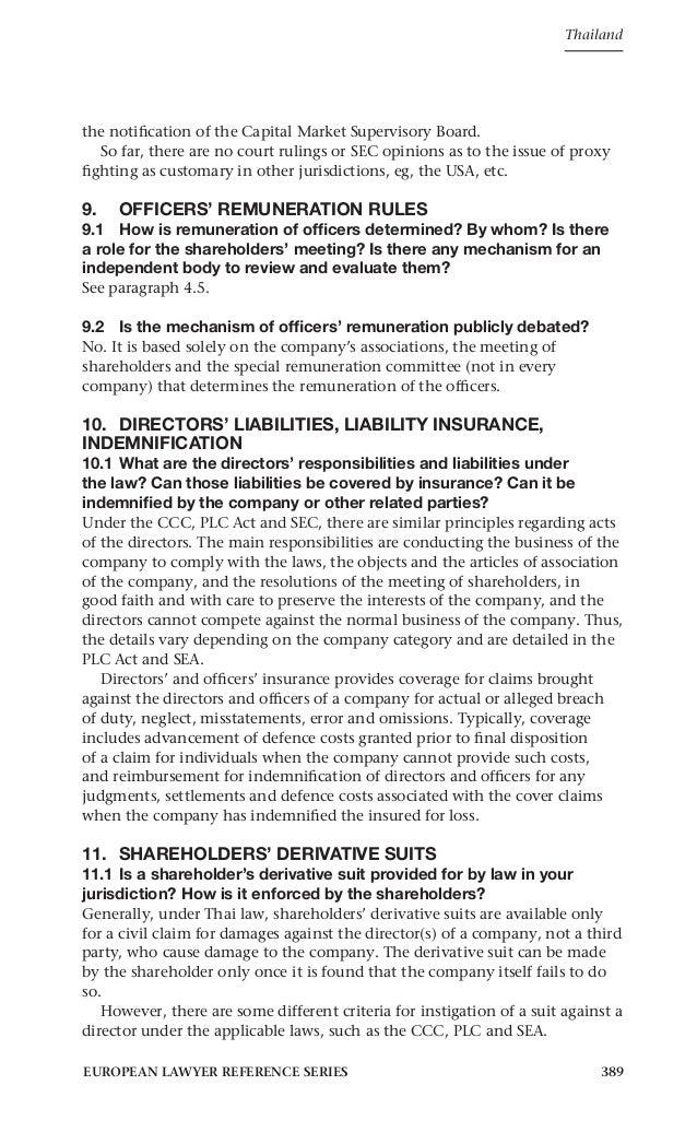 Corporate Governance Thailand