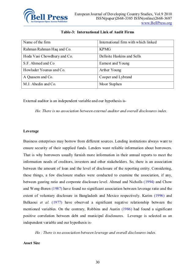 Essay on elements of good corporate governance