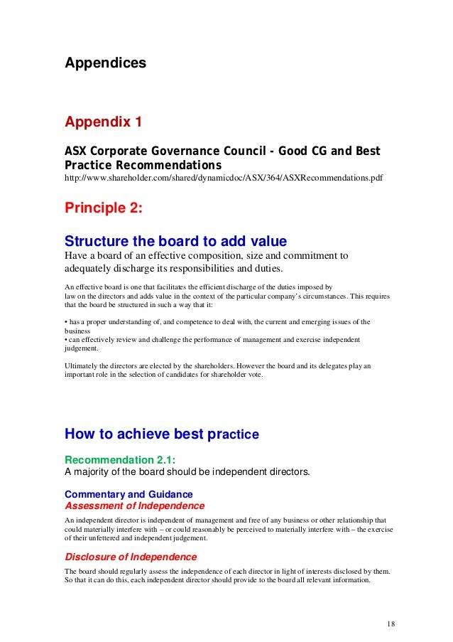 How should a board of directors be structured