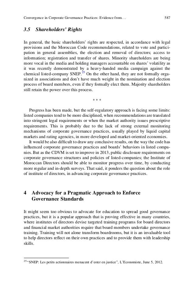 corporate governance convergence practice in japan The prolonged, 10-year, economic downturn in japan has had far-reaching  implications for structure and human resource management (hrm) practices in  japanese org  forms, human resource management and structural  convergence  dore, r 2004 'the americanisation of japanese corporate  governance: how.