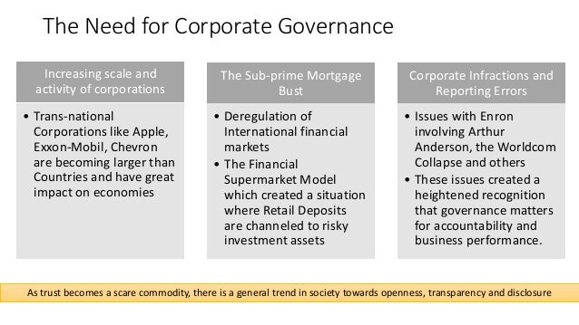 apple corporate governance Apple's board of directors has expanded the role of its independent nominating committee to include corporate governance as the new nominating and corporate governance committee, and has expanded the role of its audit committee in accordance with the sarbanes-oxley act and proposed sec and nasdaq regulations.