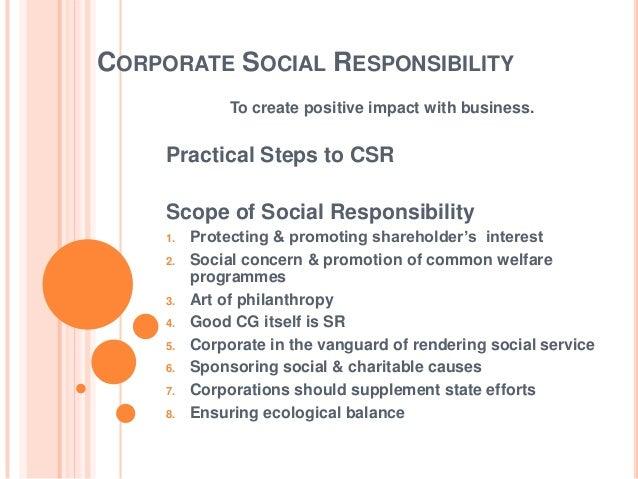 Corporate Governance & Ethics