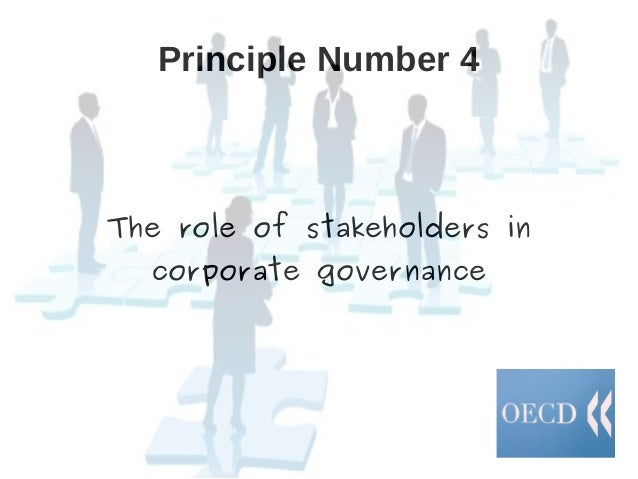 analysis of oecd principles of corporate governance The oecd began a review of the principles in 2003 considering the recent changes and developments and after an extensive review the process led to adopt revised and reviewed oecd principles of corporate governance in april, 2004.
