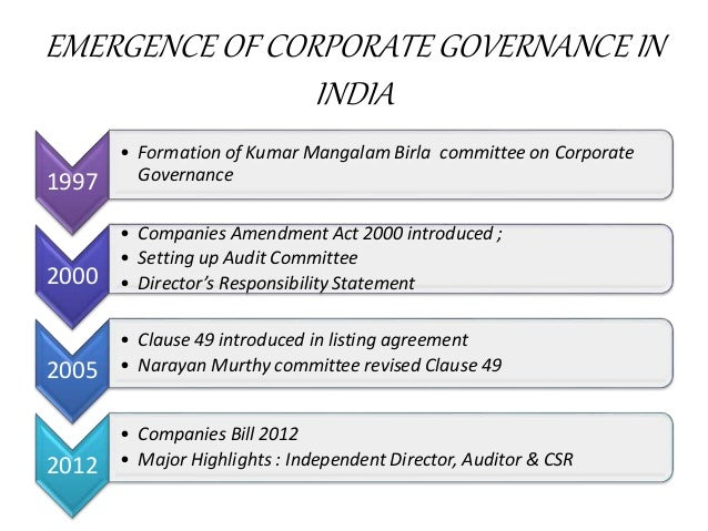 Corporate governance powerpoint slides.