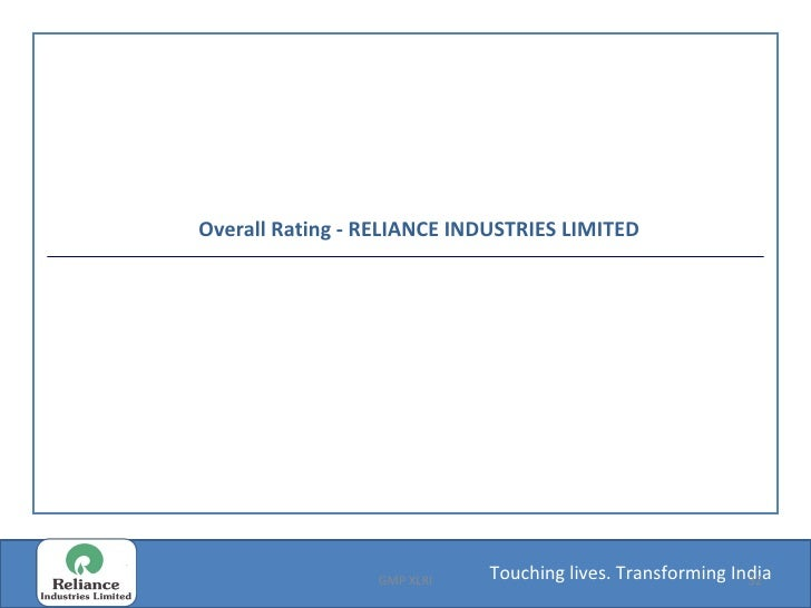 Reliance Industries Ltd Employee Reviews