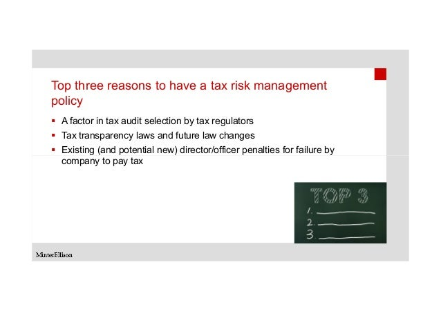 tax risk management and governance review guide pdf