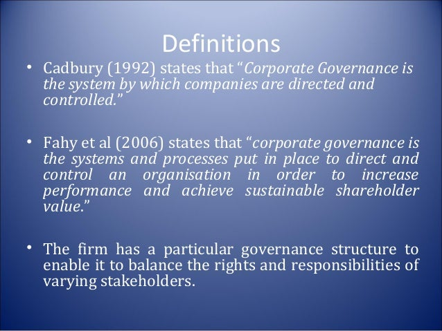 trends in corporate governance essay Key trends in corporate focusing on the essential trends and harvard law school forum on corporate governance and financial regulation all copyright and.