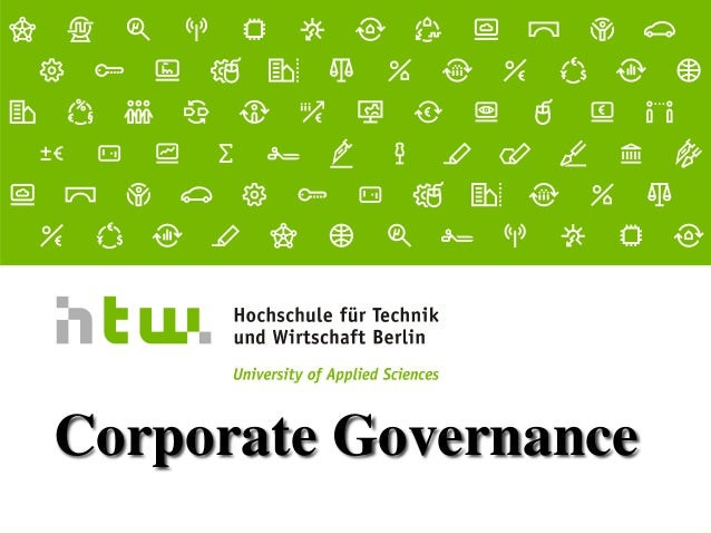 Referent · 06.11.2015 1 von xx Seiten Corporate Governance