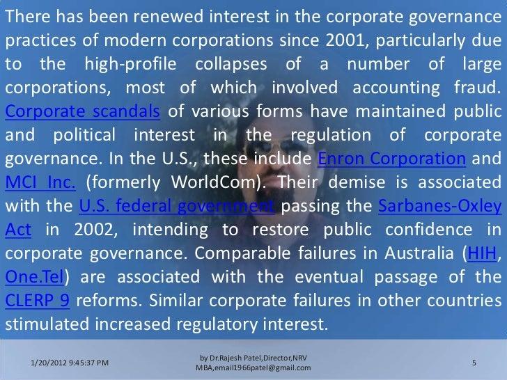 enron corporate fraud